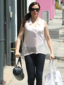 Rose - Shops on Melrose in Los Angeles -  August 19, 2012 - rose-mcgowan photo