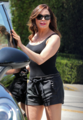 Rose - Stops By the Hair Salon - August 23, 2012 - rose-mcgowan photo