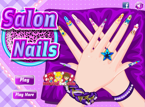 Salon Nails - Dressup24h.com