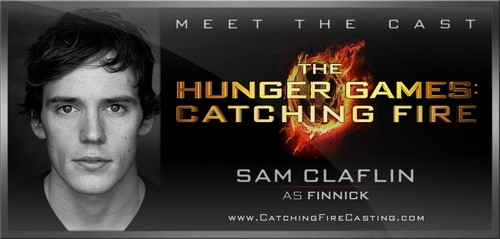 Sam Claflin is Finnick