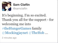 Sam Claflin-twitter - finnick-odair photo