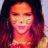 Selena Gomez photo with a portrait titled Selena Cat Icons