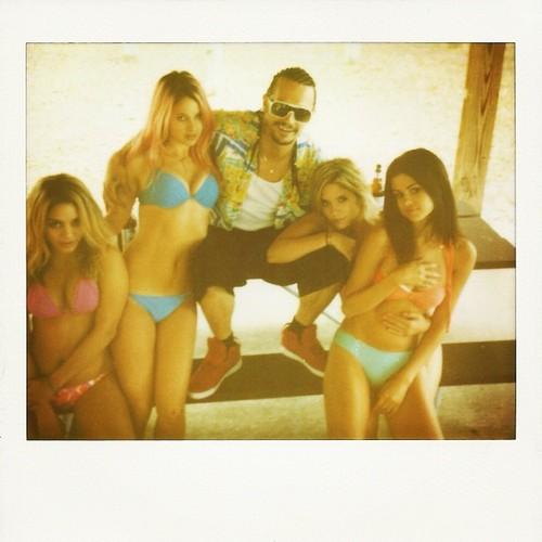 Selena Gomez, Ashley Benson, Vanessa Hudgens, James Franco and Rachel Korine