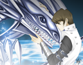 Seto Kaiba and Blue Eyes
