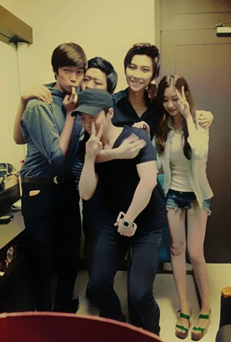Seunghyun with Jack the Ripper Musical Staffs