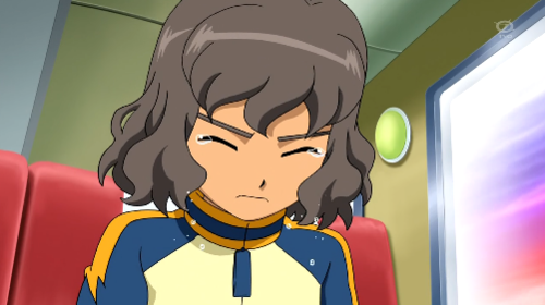 Shindou crying