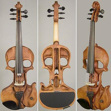 Skull Violin!