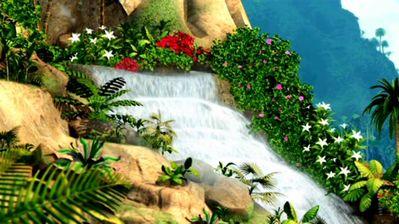 Sinema za Barbie karatasi la kupamba ukuta entitled Some pretty scenery.