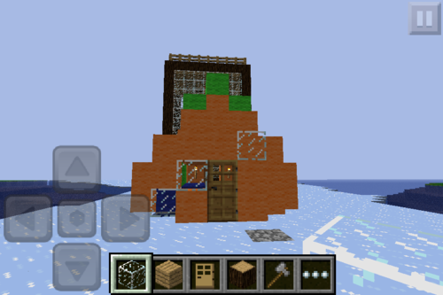 Spongebob house - minecraft Photo
