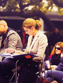 Stana Katic {New Castle S5 Behind the Scenes}
