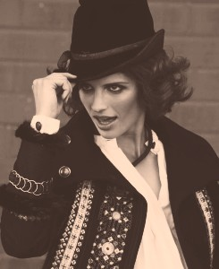 Stana Katic fond d'écran with a fedora entitled Stana *-*