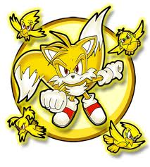 "Miles ""Tails"" Prower achtergrond called Super Tails!"