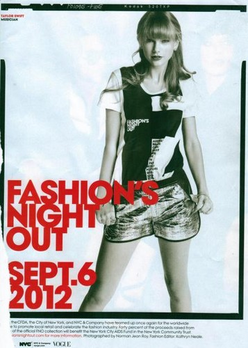 Taylor fashion night out!