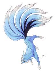 The Blue Kitsune