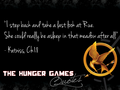 The Hunger Games frases 201-220