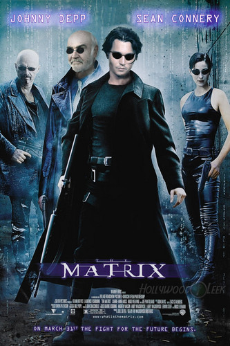 The Matrix Original Cast! Johnny Depp & Sean Connery