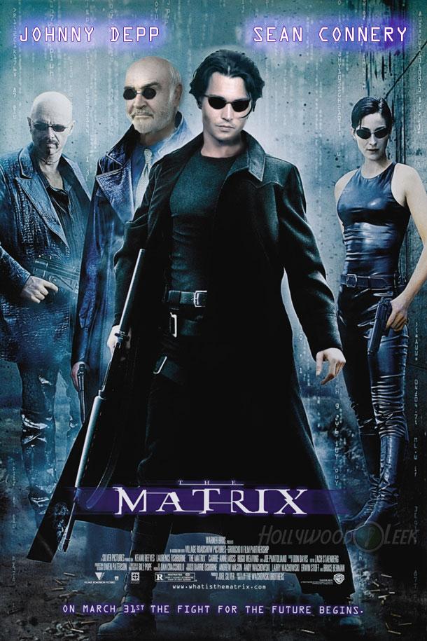 The Matrix Original Cast! Johnny Depp & Sean Connery - The ...