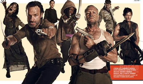 The Walking Dead-EW Magazine