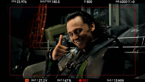 Tom Hiddleston The Avengers bloopers