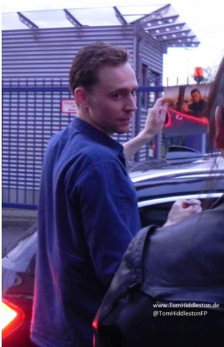 Tom Hiddleston in Cologne