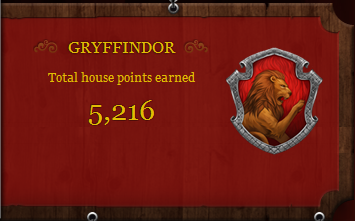 Total house points earned - new feature