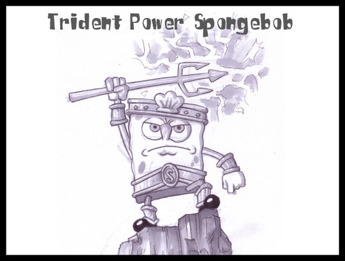 Trident Power Spongebob
