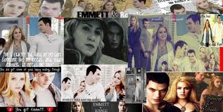 Twilight Collage(Emmett&Rosalie)