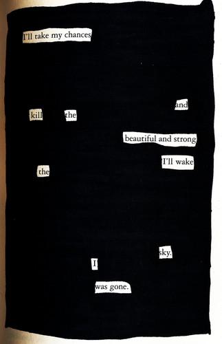 ハリーポッターvsトワイライト 壁紙 entitled Twilight blackout poem
