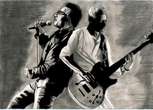 U2 wallpaper titled U2 Fanart