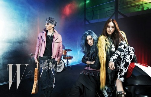 UEE and NU'EST's Minhyun and Ren are rock stars for 'W Korea'