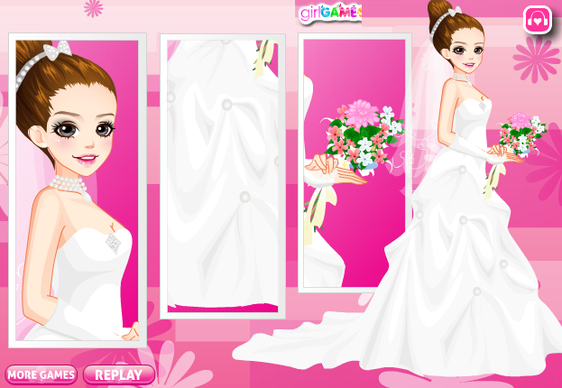 dress up wedding games