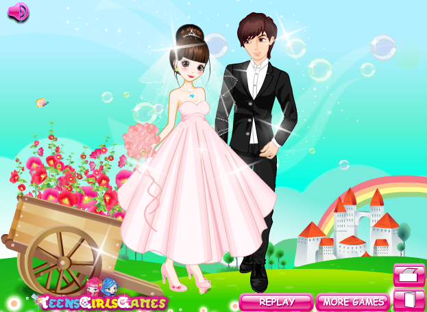 Disney Princess Wedding Day Dress Up Games : Wedding dress up games dressup h