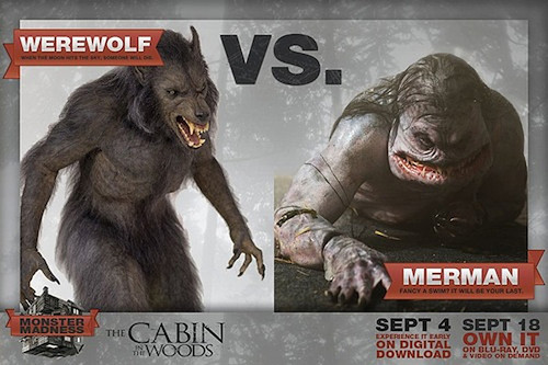 Werewolf vs Merman