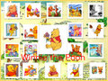Winnie the Pooh Collage