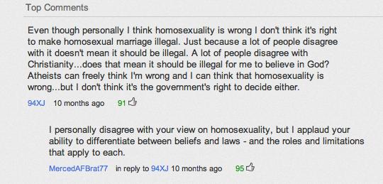 YouTube các bình luận