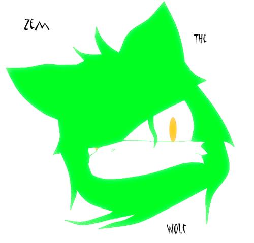 Zem wolf logo