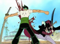 Zoro vs Mihawk - roronoa-zoro photo
