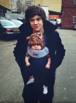 Direction on Baby Lux And Harry   One Direction Photo  31959630    Fanpop Fanclubs