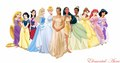 dee389's Request: Princess Diaries Mia with the disney Princesses