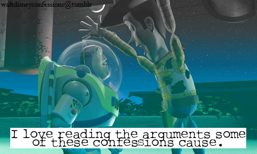 Toy Story Hintergrund called Disney confessions