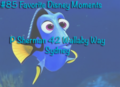favorite disney moments - finding-nemo fan art
