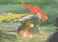 favorite disney moments