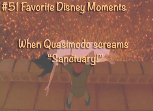 The Hunchback of Notre Dame wallpaper with a sign entitled favorite disney moments