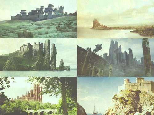 Game of Thrones things » castles