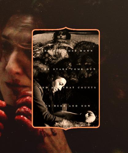 Catelyn, Summer & Bran