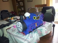 homemade thomas pinata - thomas-the-tank-engine photo