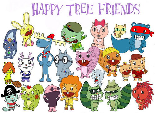 happy tree freinds