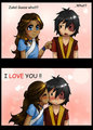 katara saying the truth  - zuko-and-katara photo