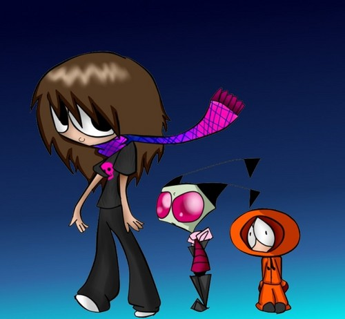 me,zim,and kenny C: