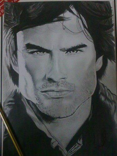 my sketch of ian